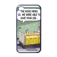 The Good News Is ... Black Apple iPhone 4 Case