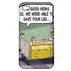 The Good News Is ... Apple iPhone 4/4S Hardshell Case (PC+Silicone)