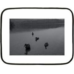 ducks Twin-sided Mini Fleece Blanket