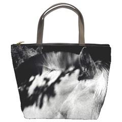 Horse Bucket Handbag