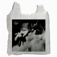 horse Twin-sided Reusable Shopping Bag