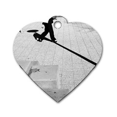 geometric  Twin-sided Dog Tag (Heart)
