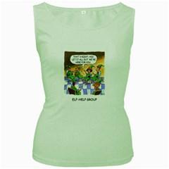 Elf Help Group Green Womens  T Shirt