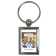 Elf Help Group Key Chain (Rectangle)