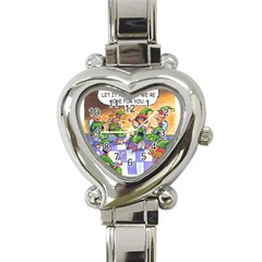 Elf Help Group Classic Elegant Ladies Watch (heart)