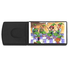 Elf Help Group 4Gb USB Flash Drive (Rectangle)