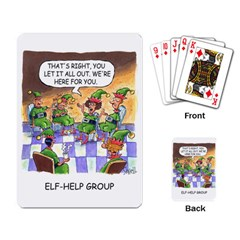 Elf Help Group Standard Playing Cards