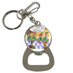 Elf Help Group Key Chain with Bottle Opener