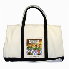 Elf Help Group Two Toned Tote Bag