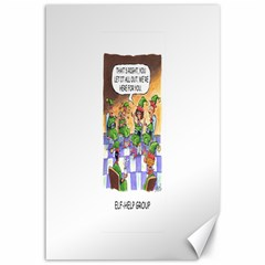 Elf Help Group 12  x 18  Unframed Canvas Print