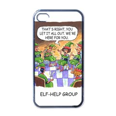 Elf Help Group Black Apple iPhone 4 Case