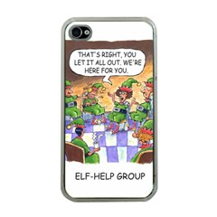Elf Help Group Apple iPhone 4 Case (Clear)
