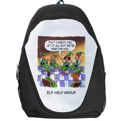 Elf Help Group Backpack Bag