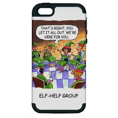 Elf Help Group Apple iPhone 5 Hardshell Case (PC+Silicone)