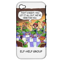 Elf Help Group Apple Iphone 4/4s Hardshell Case (pc+silicone)