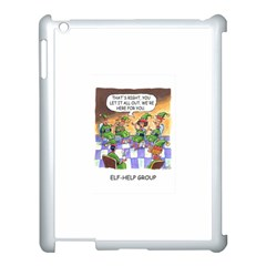 Elf Help Group Apple iPad 3/4 Case (White)