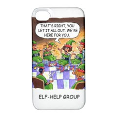 Elf Help Group Apple iPhone 4/4S Hardshell Case with Stand