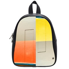 geometry Small School Backpack