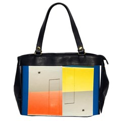 geometry Twin-sided Oversized Handbag