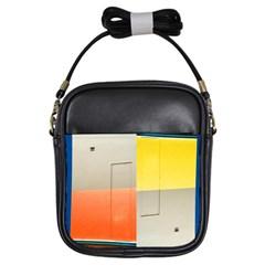 Geometry Kids  Sling Bag
