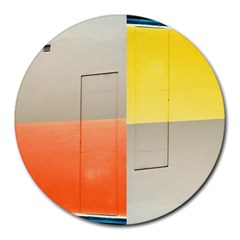 geometry 8  Mouse Pad (Round)