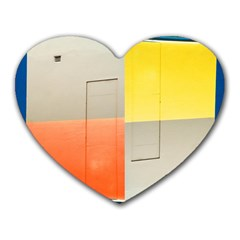 Geometry Mouse Pad (heart)