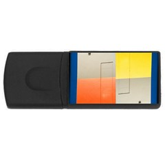 geometry 1Gb USB Flash Drive (Rectangle)