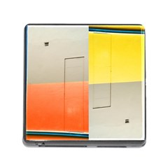 geometry Card Reader with Storage (Square)