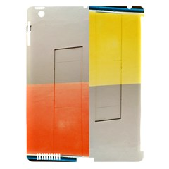geometry Apple iPad 3/4 Hardshell Case (Compatible with Smart Cover)