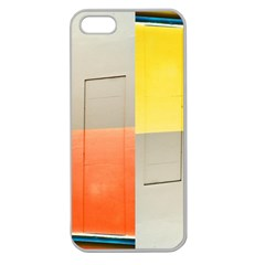 Geometry Apple Seamless Iphone 5 Case (clear)