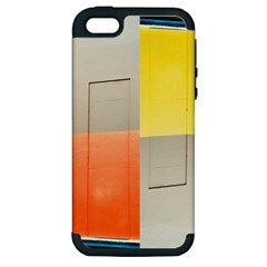 geometry Apple iPhone 5 Hardshell Case (PC+Silicone)