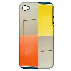 Geometry Apple Iphone 4/4s Hardshell Case (pc+silicone)