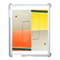 geometry Apple iPad 3/4 Case (White)