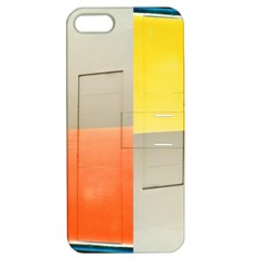 geometry Apple iPhone 5 Hardshell Case with Stand