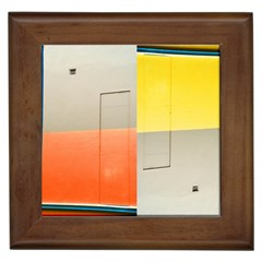 geometry Framed Ceramic Tile