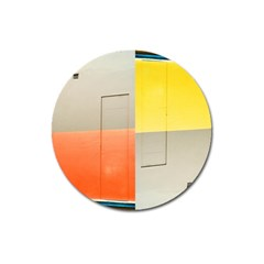 Geometry Large Sticker Magnet (round)