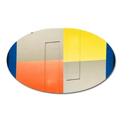 Geometry Large Sticker Magnet (oval)
