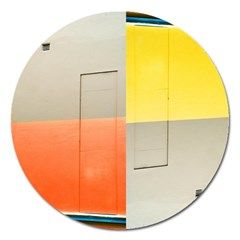 geometry Extra Large Sticker Magnet (Round)