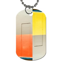 geometry Twin-sided Dog Tag