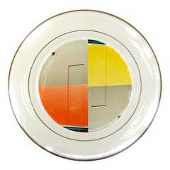 geometry Porcelain Display Plate