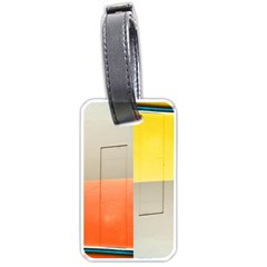geometry Single-sided Luggage Tag