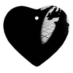 Shadows Heart Ornament (two Sides)