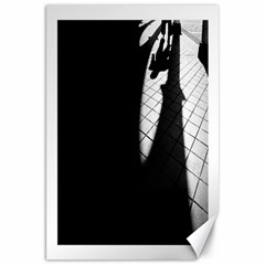 shadows 20  x 30  Unframed Canvas Print