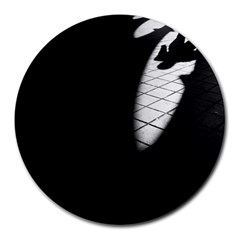 shadows 8  Mouse Pad (Round)