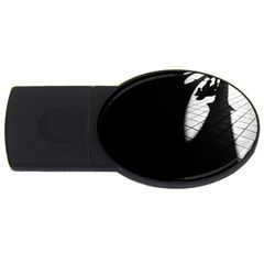 shadows 4Gb USB Flash Drive (Oval)
