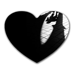 shadows Mouse Pad (Heart)