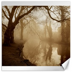 misty morning 20  x 20  Unframed Canvas Print