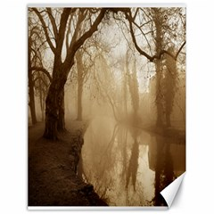 misty morning 18  x 24  Unframed Canvas Print