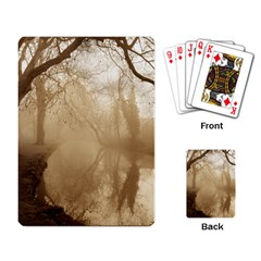 misty morning Standard Playing Cards
