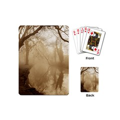 misty morning Playing Cards (Mini)